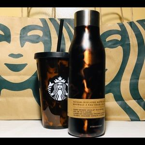 Limited Edition Starbucks Tortoise Set Of 2